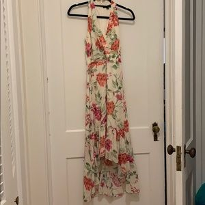 Hi-Low Floral dress